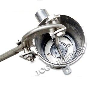 Image 2 - Bomba de água manual do óleo do poço do distribuidor de água da mão do poço da bomba de aço inoxidável do tubo reto elevador máximo 10m altura 23.5cm bem estar