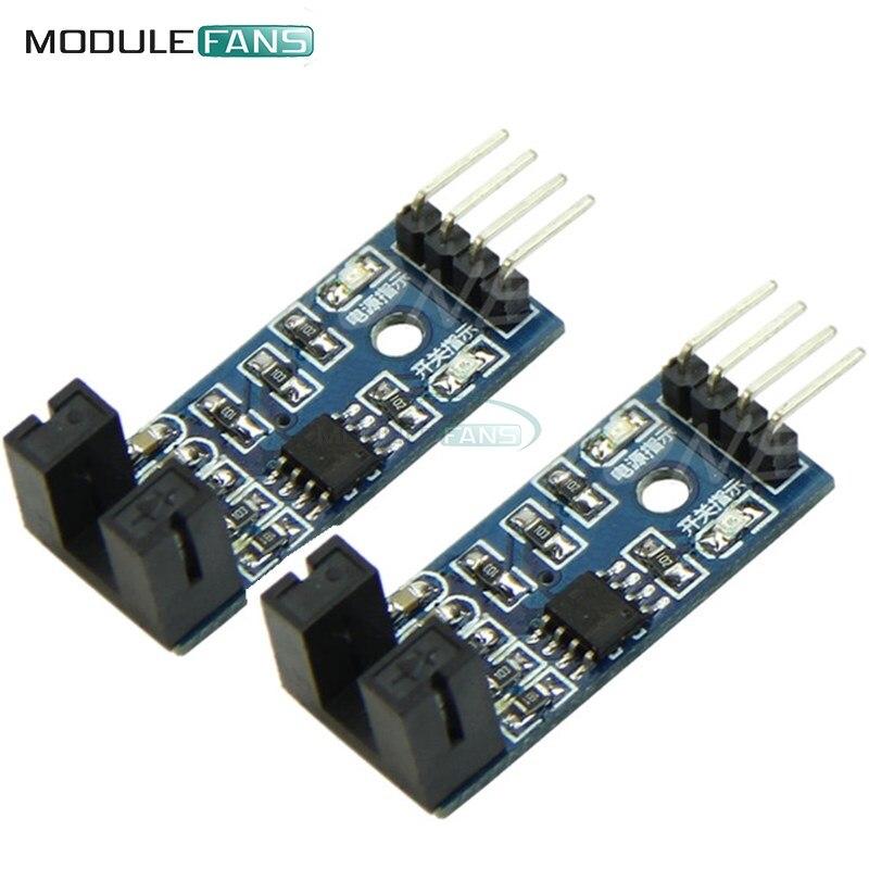 M-Egal 5 x Slot Type IR Optocoupler Speed Sensor Module LM393 for Arduino