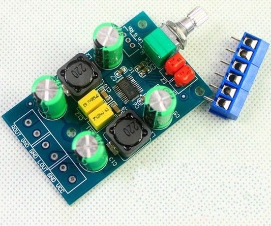 Freeshipping 25Wx2 TPA3123 D digital amplifier board Class Fever mini amplifier board freeshipping ne5532 op amp grade fever before the hifi amplifier board