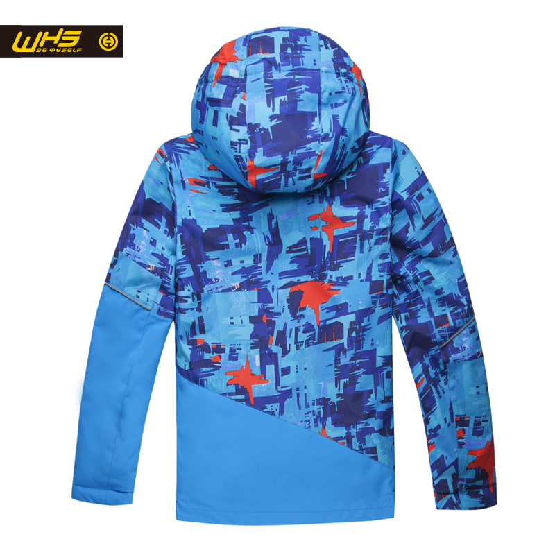 WHS Տղաների լեռնադահուկային սպորտային - Սպորտային հագուստ և աքսեսուարներ - Լուսանկար 5