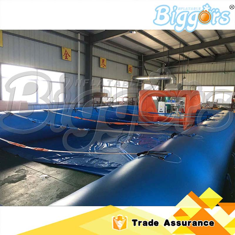 Sea Shipping Adult Games Inflatable Soccer Field Football Table Inflatable Human Foosball Court купить