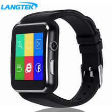 LANGTEK Bluetooth Smart Watch XL06 Smartwatch Watch for Android Phone With Camera Support SIM Card Wristwatch HD Curved Screen