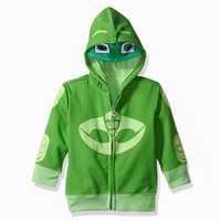 PJ Cartoon Masks Cosplay Boys Costumes Coat Girl Sweatshirt Boys Hoodies Kids Jacket Connor Greg Amaya
