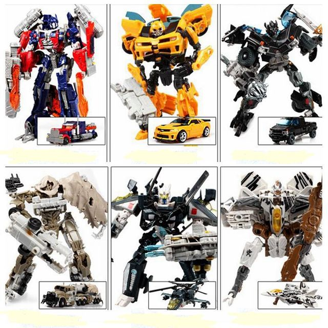 Hot Transformation 4  Bumblebee Megatron Cars Brinquedos Robots