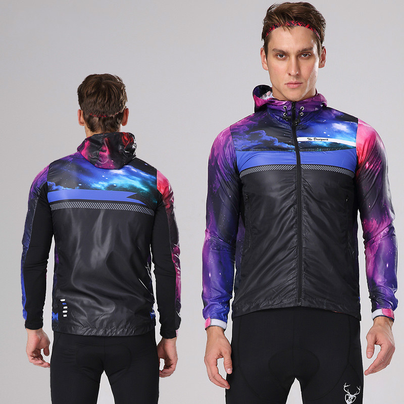 Mountainpeak Riding Windbreaker Coat Heren en Dames Ademend Zonwerend Materiaal Uitgerust met Tour Cycling Jacket