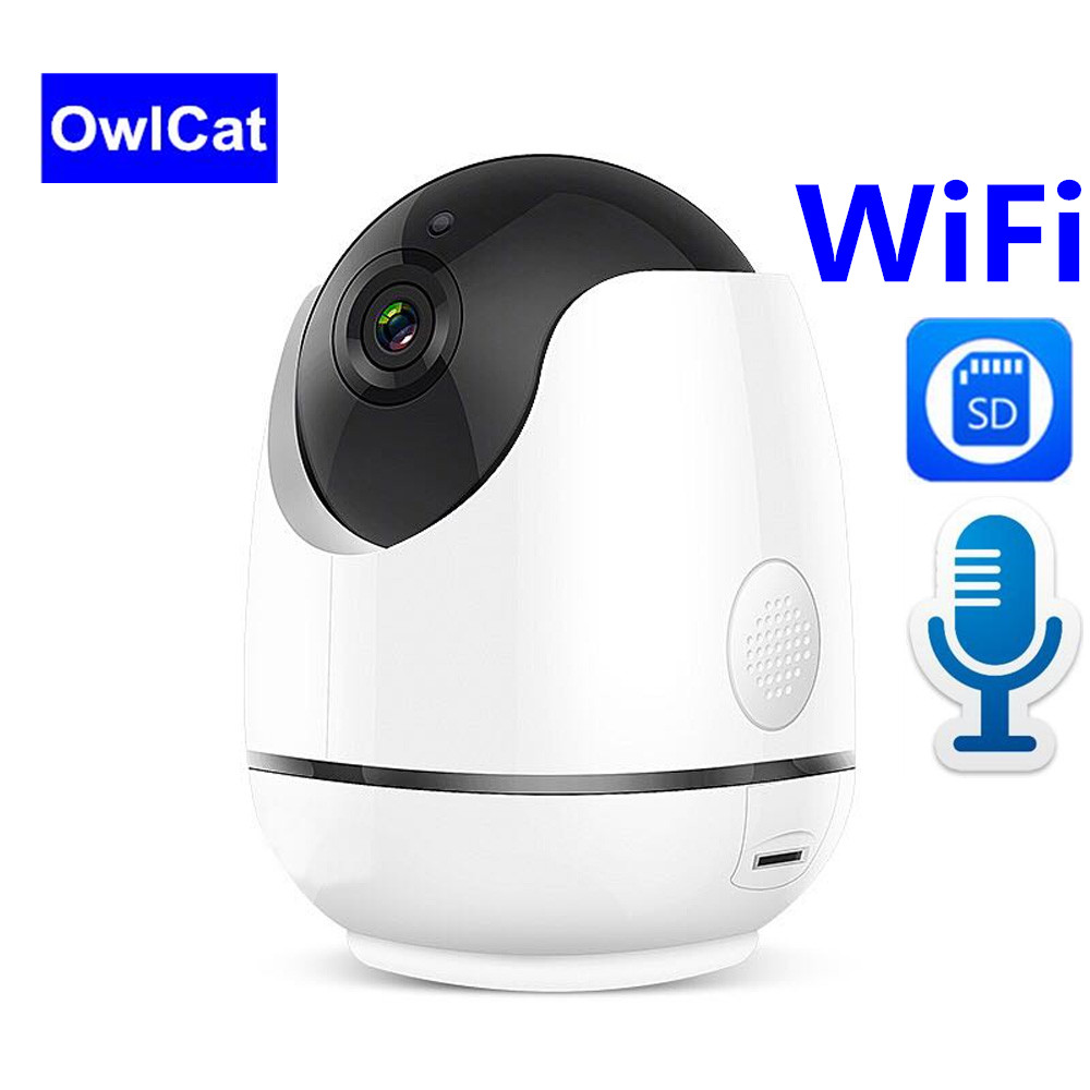 1080P Full HD Wireless IP Camera Wifi Network Video Surveillance Auto Tracking Camera IR Night Vision Two Way Audio Talk SD card1080P Full HD Wireless IP Camera Wifi Network Video Surveillance Auto Tracking Camera IR Night Vision Two Way Audio Talk SD card