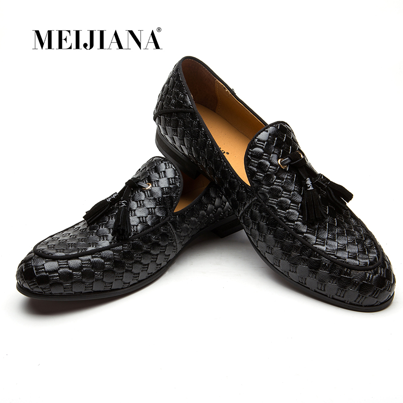 2018 New Men s Genuine Leather Shoes Black Soft Man Dress Shoes Brand Spring Soft Office