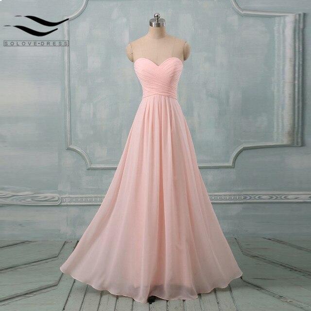 Cheap pastel colores Vestidos de baile a la fiesta de la boda larga ...