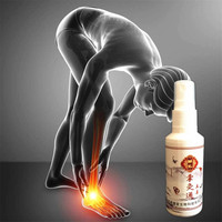 MIYUELENI 85ml Chinese Herbal Medicine Joint Pain Spray Gold Scorpion Venom Essential Oil Arthritis Rheumatism Patches Essential Oil