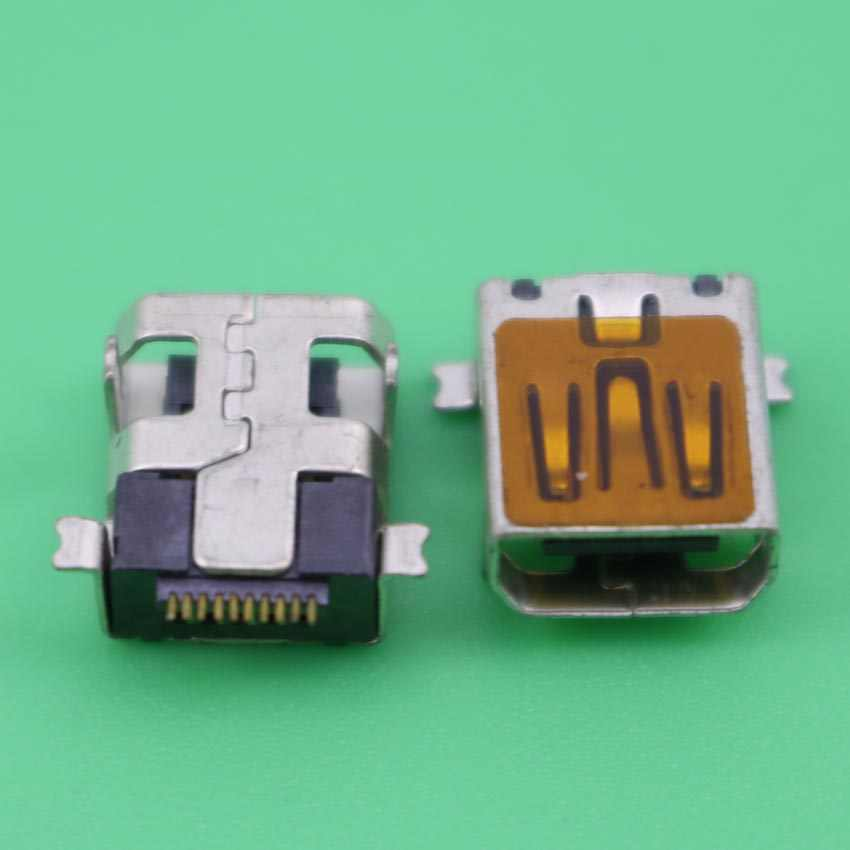 玉渓ミニ10ピンusbメスソケットコネクタペグ用修理携帯カメラmp3 mp4 mp5電話、タブレットpcネットブック