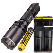 NITECORE TM03 TM03 CRI Tactical Flashlight CREE XHP70 LED max.2800LM beam distance 289 meters outdoor torch kit + TM03 battery