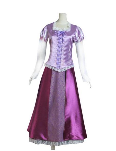 2016 Cartoon MovieTangled Rapunzel Cosplay Costume Adult ...