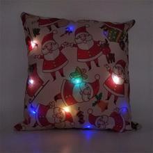 Led Pillow Case Christmas Decoration