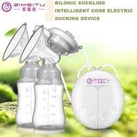 ZIMEITU Breast Pump VS Real Bubee Milk Extractor Electric Massage Milk Pump extractor de leche