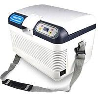Hcool 12l домашний холодильник 220 В/12 В Электрический автомобильный холодильник Портативный цифровой таймер Управление постоянной Температура