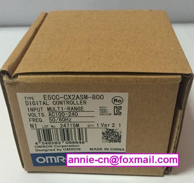 ФОТО E5CC-CX2ASM-800  New and original OMRON  AC100-240V