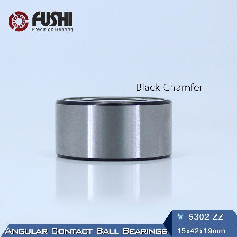 5302 ZZ Bearing 15 x 42 x 19 mm ( 1 PC ) Axial Double Row Angular Contact 5302ZZ 3302 ZZ 3056302 Ball Bearings