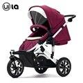 Alta calidad populay en madres para cochecitos de bebé 3-wheeled cesta coche paseo