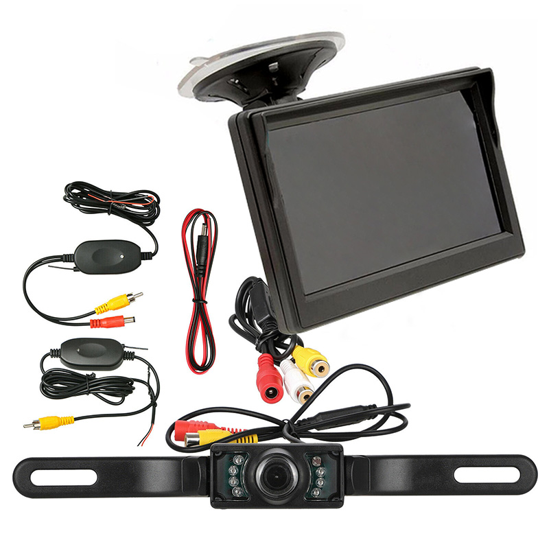5 Inch Monitor Rear View Car Truck Parking IR Night Vision Reversing Camera Security System GDeals5 Inch Monitor Rear View Car Truck Parking IR Night Vision Reversing Camera Security System GDeals
