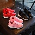 2017 niños niñas shoes para niños zapatillas transpirable niños de alta calidad de diseñador de la marca nueva moda running shoes tamaño 26-36
