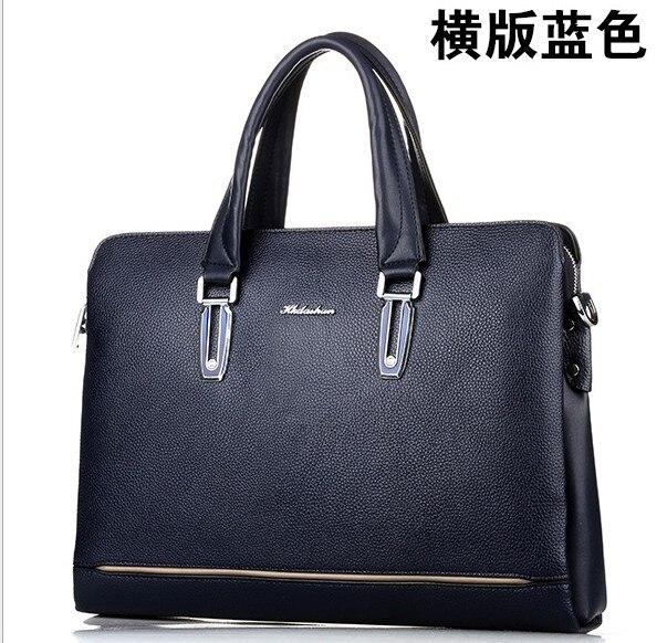 3color  hk dashan brand 2016 men's briefcase 15 big size blue pu leather man handbags dress business mens briefcases black bags сумка givenchy fc150411 hk 15 pervert