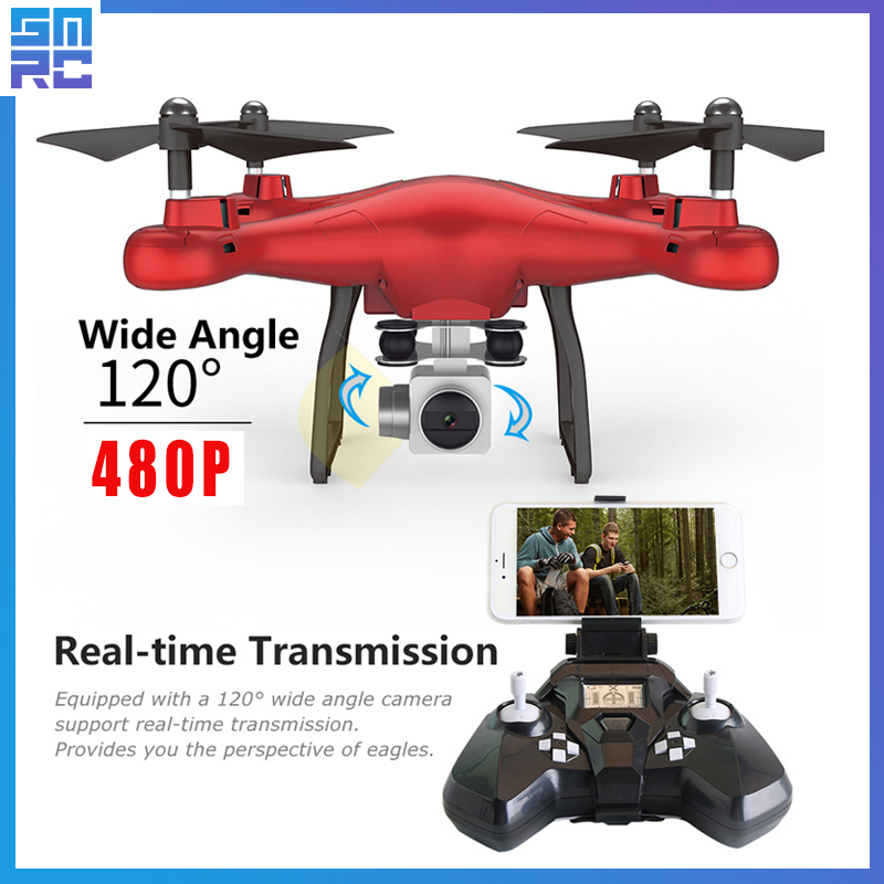 SMRC S10 2.4G 4-AXIS remote control quadcopter drone with HD camera rc <font><b>dron</b></font> cam <font><b>FPV</b></font> wifi professional helicopter easy play toy image
