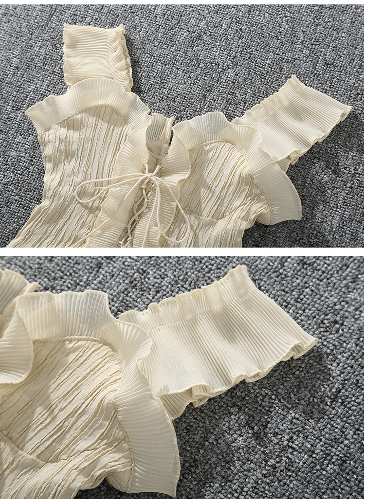Shintimes 18 New Summer Autumn Bustier White Black Tank Top Female Sexy Bandage Sleeveless Crop Top Zipper Woman Clothes 8
