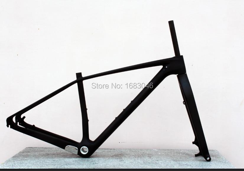 Bicycle Frame 15.5/17/18.5/20 Carbon Fiber MTB Mountain Bike Frame Carbon Frame fork for 29 Wheels