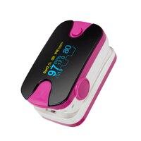 HOT Portable Color OLED Finger Pulse Oximeter 4 Parameter SPO2 PR PI Respiration Rate Monitor
