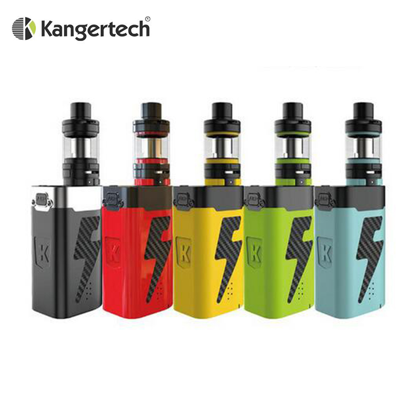цена Original Kanger AKD FIVE 6 Starter Kit with 8ml Subohm Tank and 220W Box Mod Kangertech FIVE6 Fit Tiger Coil