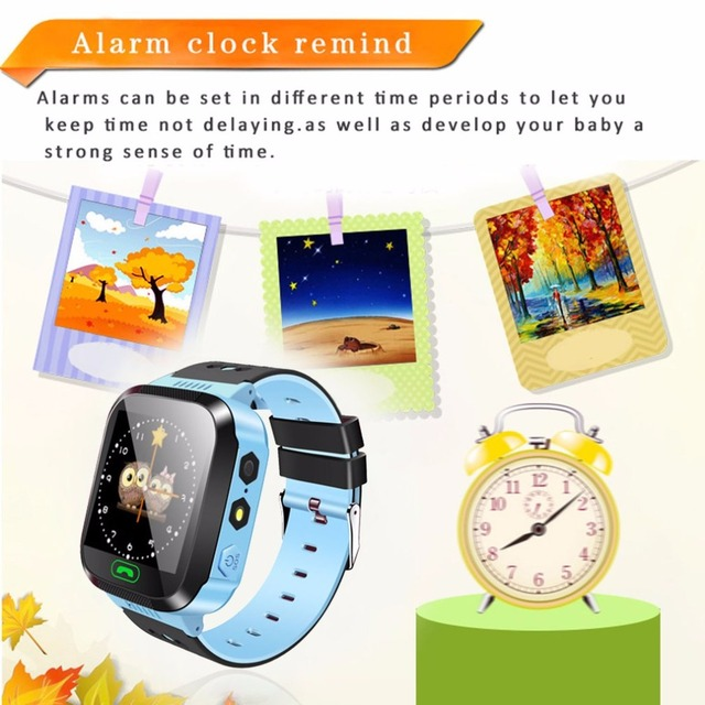 Smart Watch Kids Wristwatch Touch Screen GPRS Locator Tracker Remote Camera SIM Calls