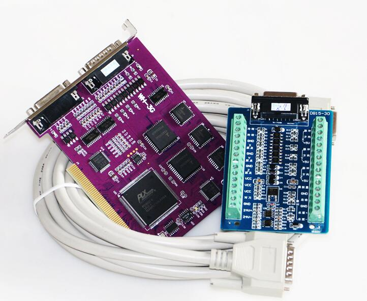 Ncstudio controller 3 axis nc studio system for cnc router 5449 nc 3g motion control card pcimc 3g servo studio card cnc 3axis interface adapter breakout cheapraybanclubmaster Gallery