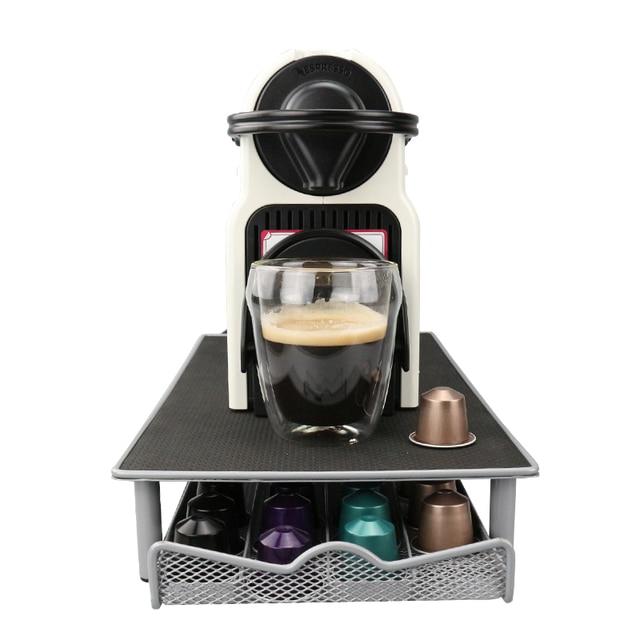Nespresso Drawer Storage 40 Nespresso Capsules Coffee Pod Holder Stand  Kitchen Metal Shelves Organization Drawer Free