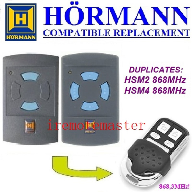 Reasonable Hormann Hsm2 868 Access Control hsm4 868 Garage Door Remote Control Compatible Remote Transmitter Free Shipping