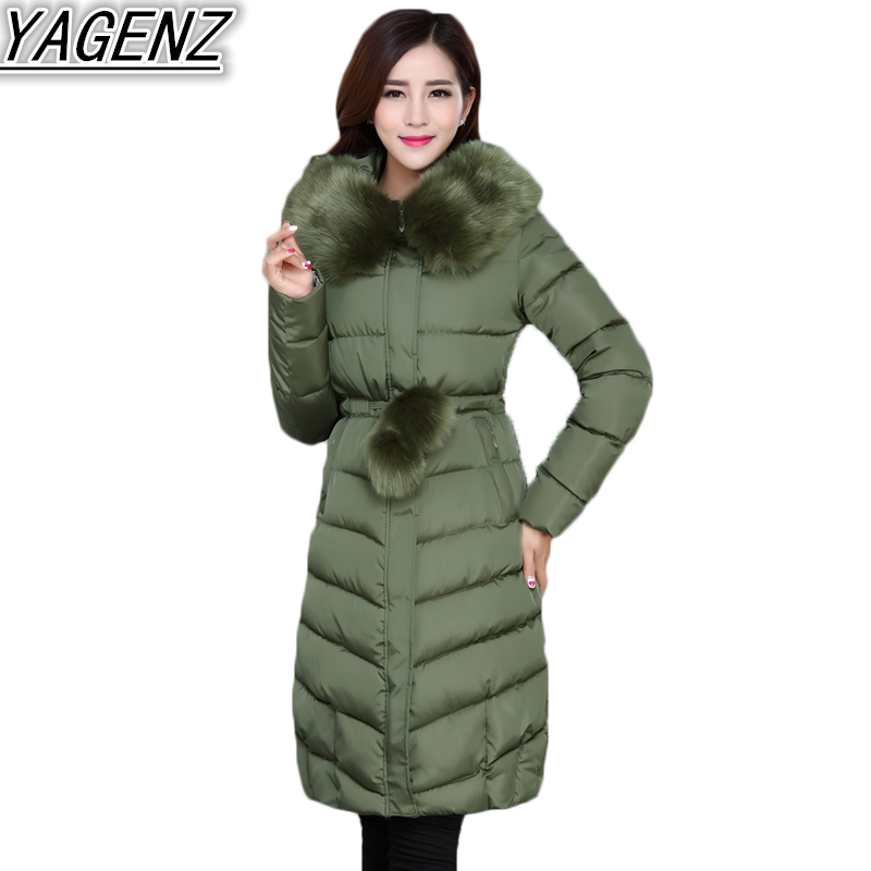 Plus size 5XL Winter Jackets Women Long Down Jacket Coat 2018 Fashion Thicken Warm Hooded Cotton Coat Women's Cotton-padded Coat winter jackets men plus size parkas fashion cotton padded warm winter coat plus velvet thick hooded over coat down army green