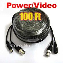 100ft 30M Video Power Cable BNC For CCTV Security Camera a77