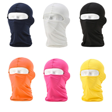 New Motorcycle Mask Balaclava Face Shield Biker Windproof Lycra Mascara Moto