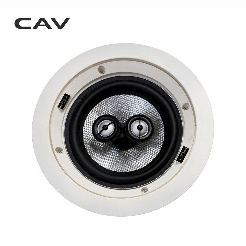 Электрические плиты CAV HT-62 In-ceiling динамик домашний кинотеатр 5,0 СИСТЕМА фоновая музыка глубокий бас аналоговая передача настенный встроенный динамик s (Фото 1)