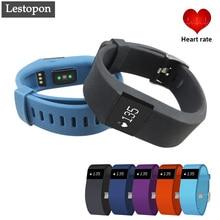 Lestopon Smartband Bluetooth 4.0 Смарт Браслет Сердечного ритма Monito Расстояние Трекер Счетчик Калорий Для Samsung iPhone xiaomi