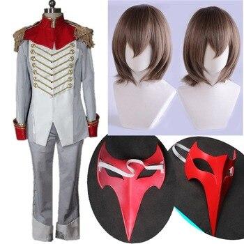 Pełne zestawy Persona 5 Goro Akechi Cosplay kostium Akethi Gorou Crow Cosplay kostium na zamówienie