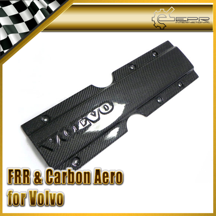 EPR Car Styling For Volvo 850 S70 V70 Carbon Fiber Plug Cover Glossy Fibre Finish Engine Interior Body Kit Racing Accessories