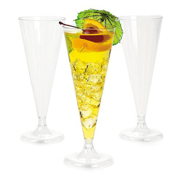 Disposable Colored Plastic Wine Gles Wedding Parties Toasting