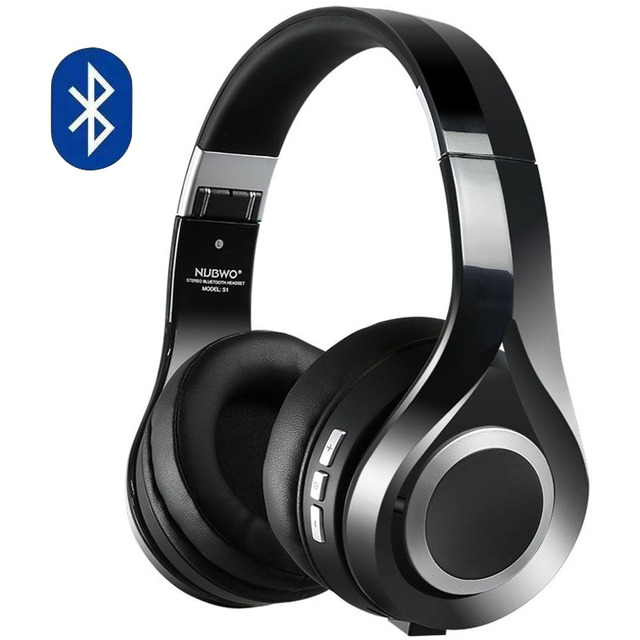e31f2024d2d Bluetooth Headphones Wireless Gaming Headset with microphone for phones  Brand NUBWO S1