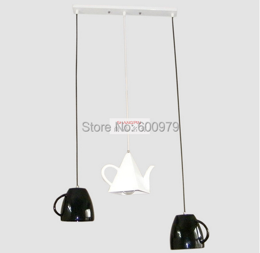 2014 the newest Fashion tea cup  glass pendant light dinning lamp aslo for wholesale (3 piece) wholesale ru ru goldfish tea italics opening piece ceramic tea gift sets new