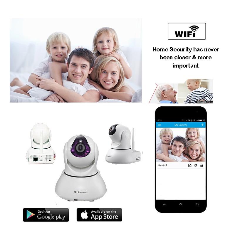 все цены на Wireless wifi network surveillance IP camera rotation voice intercom TF card HD CCTV P2P home security baby monitor camera онлайн