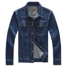 2017 frühjahr Neue 8XL Plus Größe Herren Jacke Denim Jeans Outwear Blau herren Vintage Jeans Jacke Männlichen Jeans Jacke Mantel, PA021
