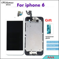 Mobymax Full Assembly Pantalla LCD Screen For IPhone 6 A1549 A1586 A1589 Replacemen Digitizer Display Home