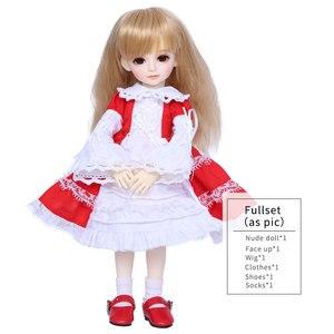 Image 5 - OUENEIFS Gaby Aileendoll BJD SD Doll 1/6 Body Model Girls Boys High Quality Resin Figure Toys Shop Free Eyes