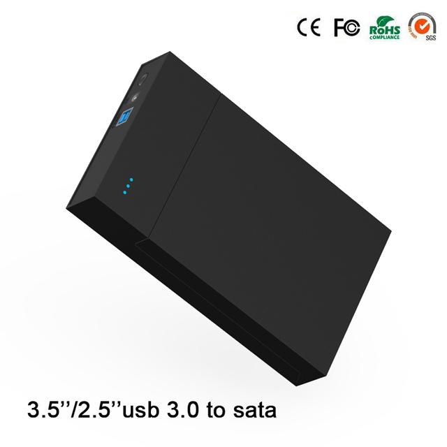 Herramienta gratuita hdd caso caja de disco duro portátil de 6 TB sata 3.5 ''USB 3.0 2.5'' hdd envío gratis blueendless MR35T