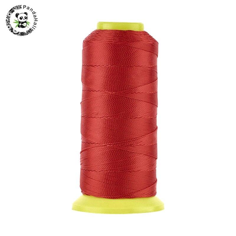 Прочная нейлоновая швейная нить Pandahall шнур для изготовления ювелирных изделий 0 8